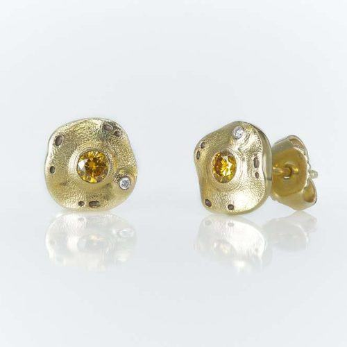 Alex Sepkus Natural Diamond Flora Earrings