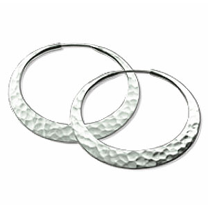 Toby Pomeroy 32mm EcoSilver Eclipse Hoops