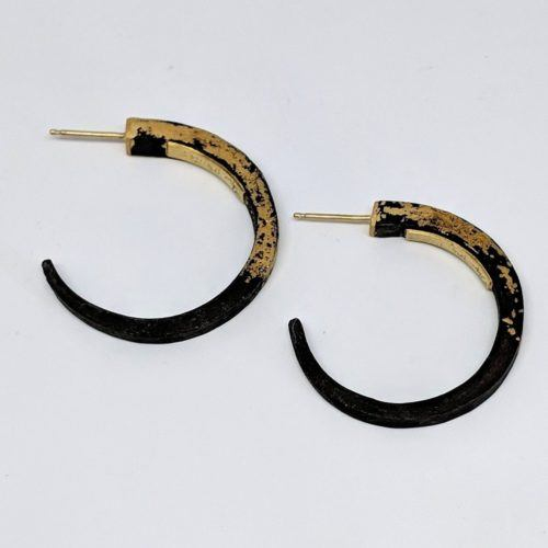 Small Hand Forged Iron Hoops
