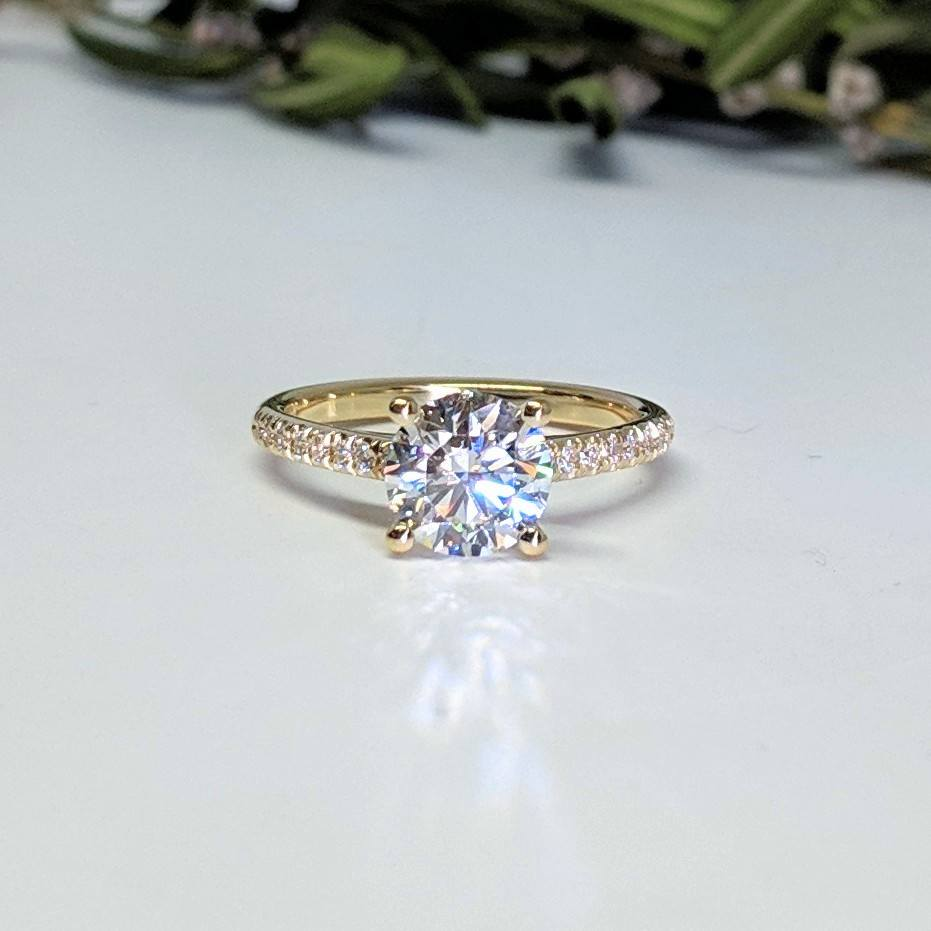 Pave Diamond Ring in Hanover NH