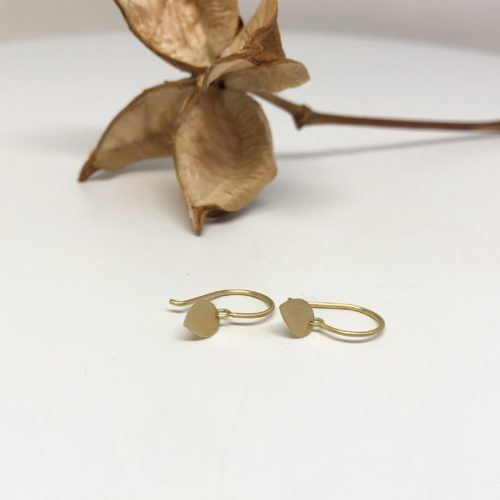 """Tiny Petal"" Earrings by Sia Taylor"