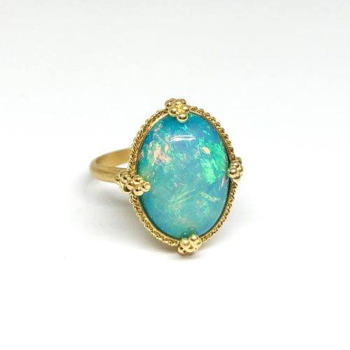 Ethiopian Opal Statement Ring