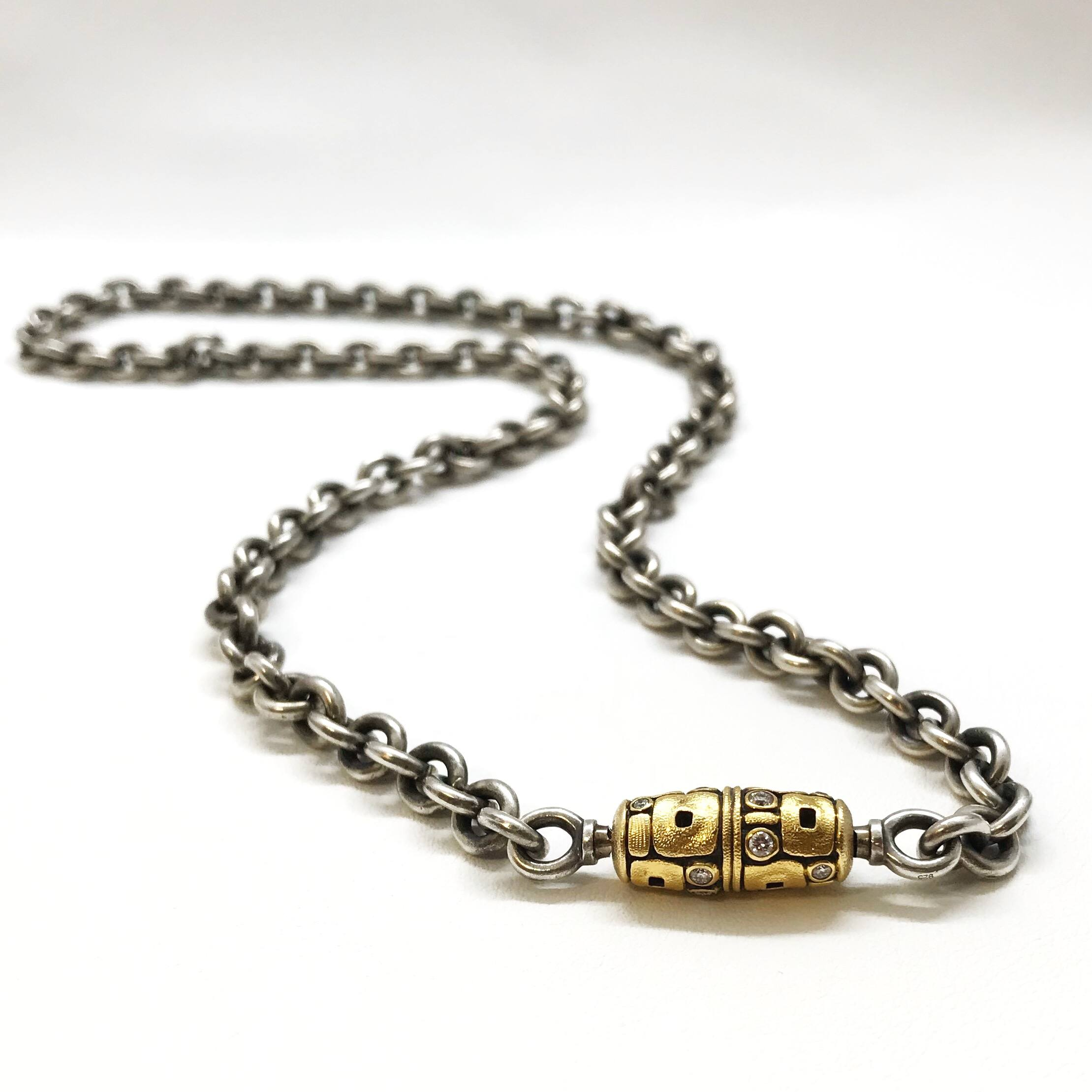 Sterling Silver Wide Chain