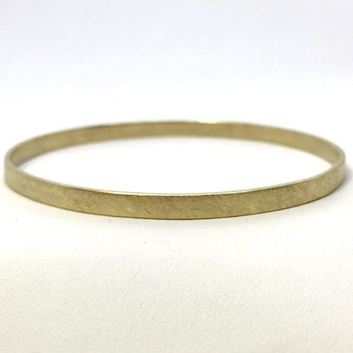 18 Karat Yellow Bangle