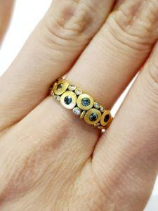 18KY Candy Ring