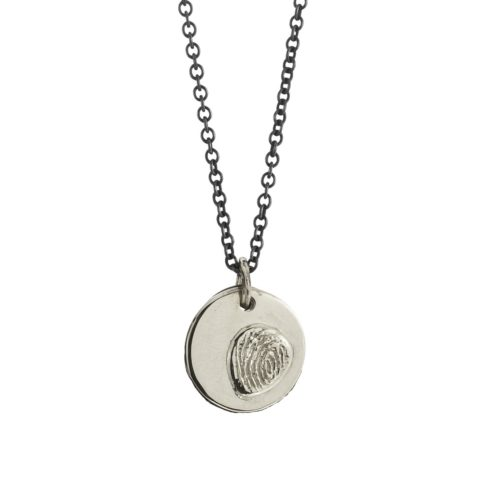 Fingerprint Medium Pendant